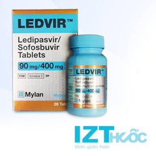 Thuốc Ledvir giá bao nhiêu, thuốc Ledvir mua ở đâu chính hãng