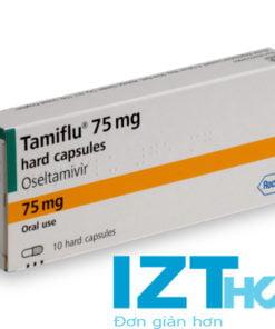 thuốc tamiflu 75 mg điều trị cúm A B cho người lớn và trẻ em, mua thuốc tamiflu ở đâu chính hãng giá bao nhiêu