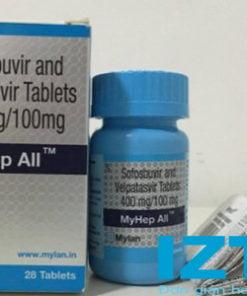 thuốc Myhep all Mylan điều trị viêm gan C giá bao nhiêu mua ở đâu chính hãng