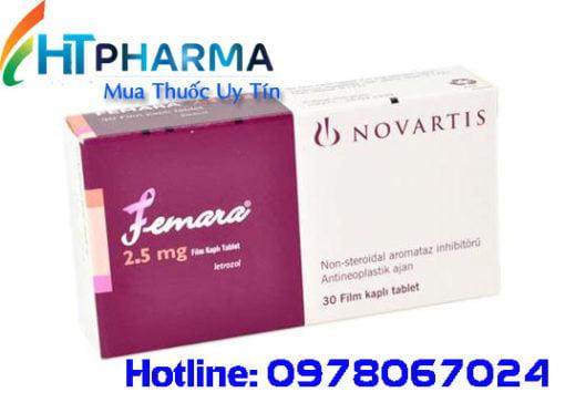 thuốc femara 2.5mg là thuốc gì? giá bao nhiêu mua ở đâu chính hãng