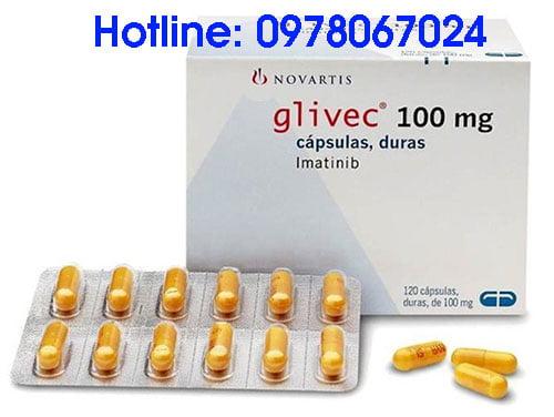 thuốc glivec 100mg 400mg giá bao nhiêu mua ở đâu chính hãng