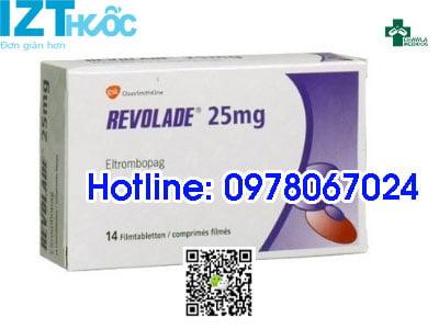 thuốc revolade 25mg giá bao nhiêu mua ở đâu chính hãng