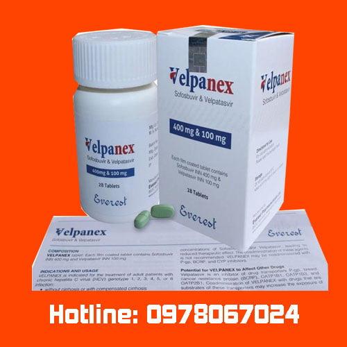 thuốc Velpanex là thuốc gì giá bao nhiêu? mua ở đâu chính hãng