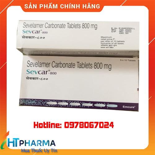 giá thuốc sevcar 800 sevelamer carbonate
