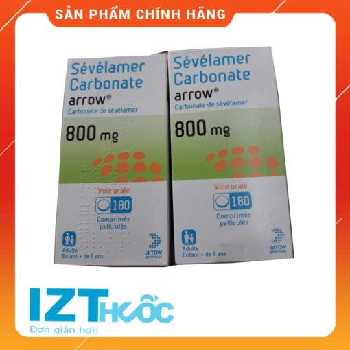 Thuốc Sevelamer Carbonate 800mg arrow
