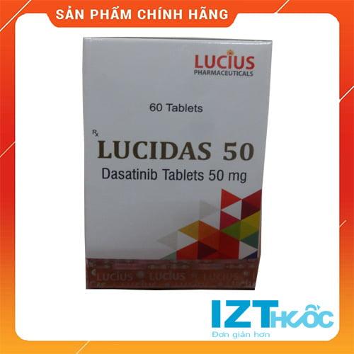 thuốc lucidas 50mg dasatinib giá bao nhiêu mua ở đâu