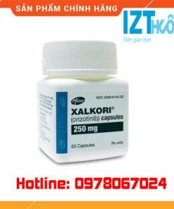 thuốc Xalkori 250mg crizotinib là thuốc gì? giá bao nhiêu mua ở đâu chính hãng
