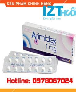 thuốc arimidex 1mg giá bao nhiêu mua ở đâu chính hãng
