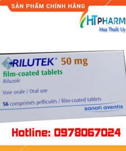 thuốc rilutek 50mg là thuốc gì giá bao nhiêu mua ở đâu chính hãng